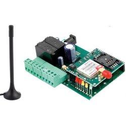 Relais piloté à distance par téléphone (GSM, SMS)