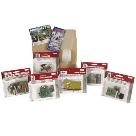 Lot de 6 mini-kits pour initiation à la soudure