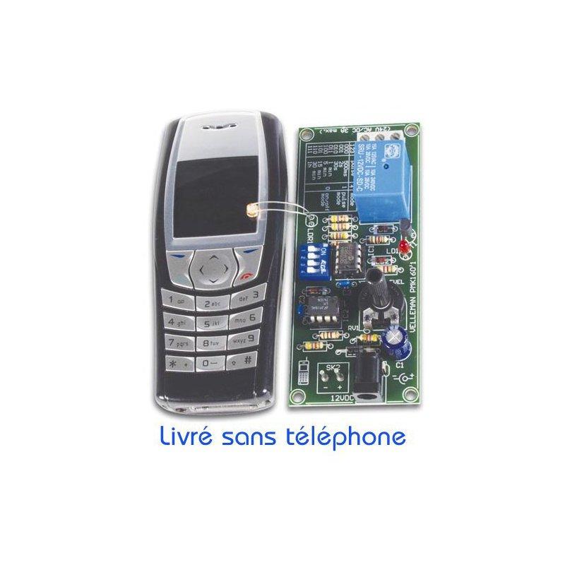relais command distance par un t l phone portable velleman mk160. Black Bedroom Furniture Sets. Home Design Ideas