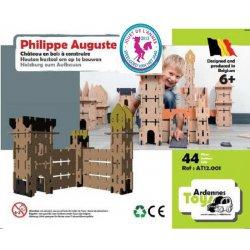 Philippe Auguste: château en bois, 44 pièces