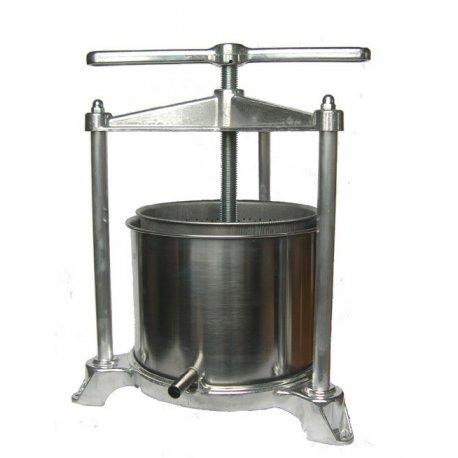Pressoir à jus de fruits cuve inox 5 litres