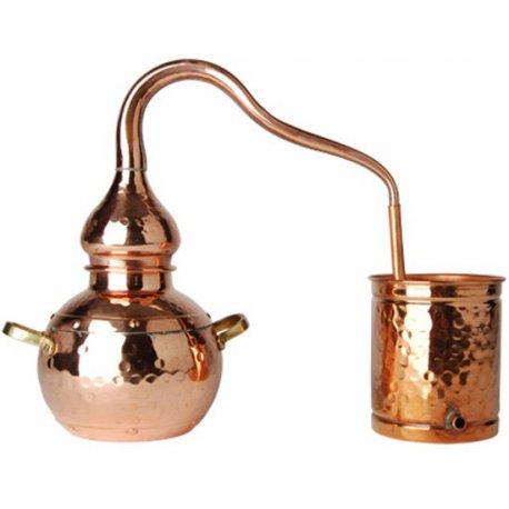 Alambic artisanal en cuivre