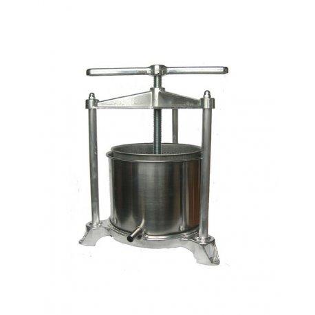 Pressoir à jus de fruits cuve inox 2 litres