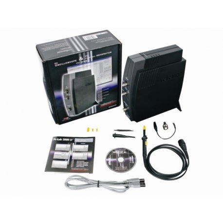 PCSGU250: générateur analyseur de fonctions oscilloscope 2 voies - PC USB