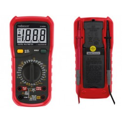 Multimètre 600V/10A, capacité, fréquence et thermocouple K