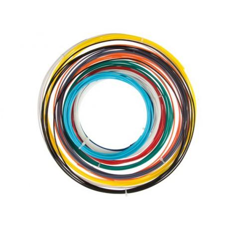 Assortissement de fils colorés 1.75mm pour stylo ou imprimante 3D