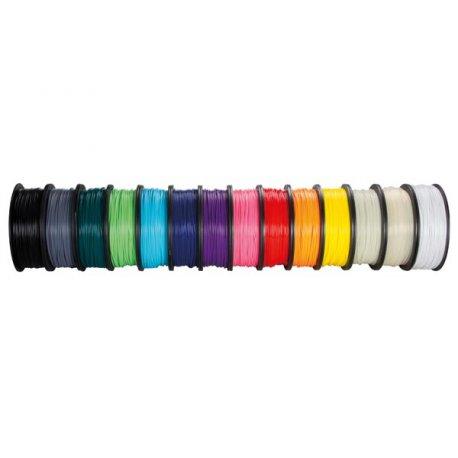 Bobines multicolores de fil PLA 1kg 1.75 mm pour imprimante ou stylo 3D