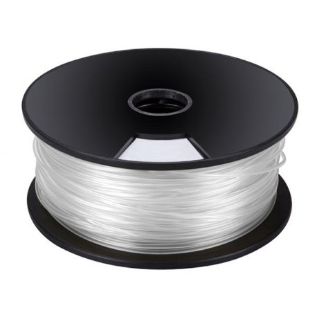 Bobine fil fin 1.75mm 1kg ABS blanc pour imprimante ou stylo 3D