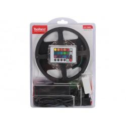 Kit ruban LED RGB télécommandé avec alimentation 3m