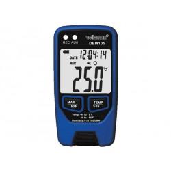 Enregistreur de températures et d'humidité longue durée DEM105