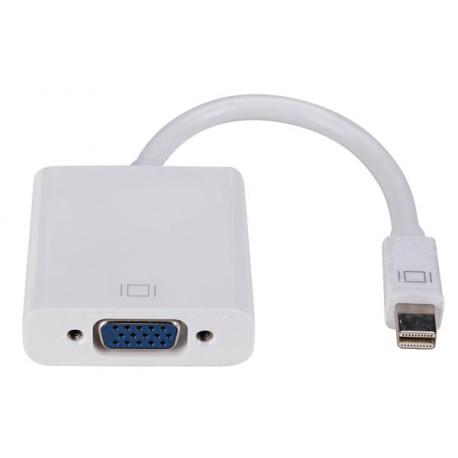 Adapateur Mini DisplayPort vers VGA (moniteur, projecteur...)