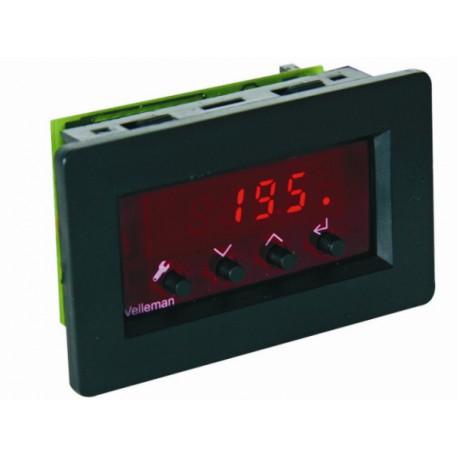 Thermostat LCD retro-éclairé à encastrer VM148