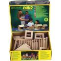 Jouet de construction en bois Walachia Vario 72 pièces