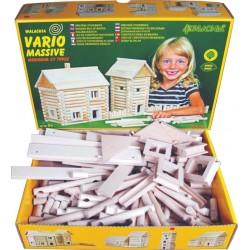 Jouet de construction en bois Walachia Vario Massive 209 pièces