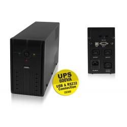 Onduleur Eminent USB 360W anti-foudre