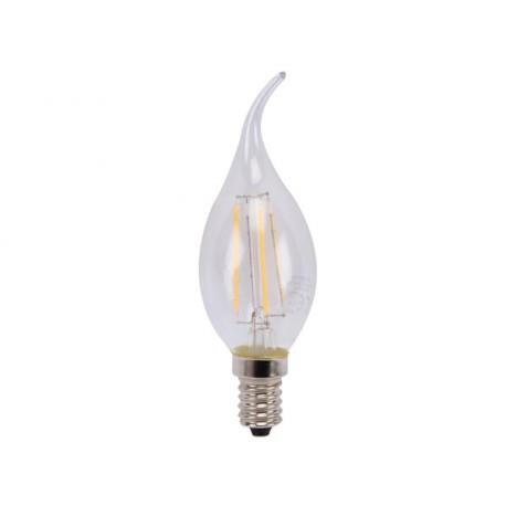 Ampoule LED filament EDISON 5W E14 Flamme pour lustre