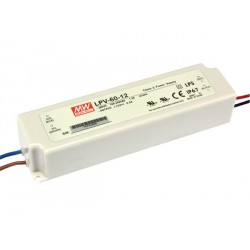 Alimentation 12V CC 60W IP67