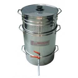 Extracteur de jus à vapeur Jumbo professionnel tout inox