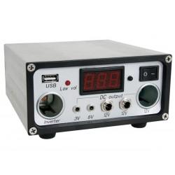 Régulateur solaire LCD USB 3V à 12V controleur 10A 120W
