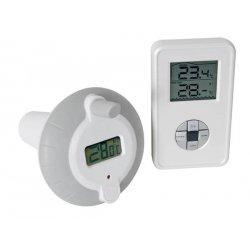Thermomètre flottant sans fil pour piscine, bassin, étang...
