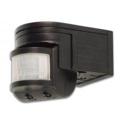 Détecteur de mouvements IR réglable et orientable IP44 - Noir