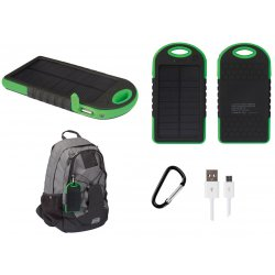Chargeur solaire 5000mAH pour smartphones et tablettes