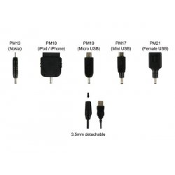 Cable usb micro mini usb nokia ipod iphone