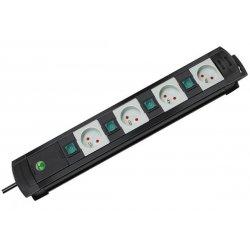 Multiprise 4 interrupteurs Brennenstuhl Premium Line - cable 3m