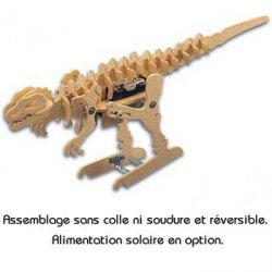TyranoMech: kit jouet robot dinosaure en bois à assembler