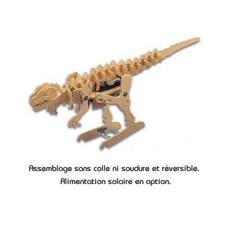 TyranoMech: kit jouet robot dinosaure en bois à assembler KNS1