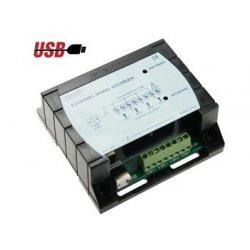 Enregistreur de signal longue durée 4 canaux USB