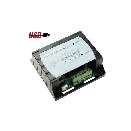 Enregistreur PC de signal - USB - 4 canaux ou voies - Velleman
