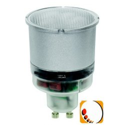 Ampoule fluocompacte variable pour spot GU10 11W
