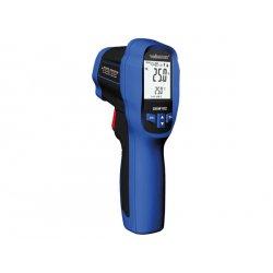 Thermomètre infrarouge à double laser et sonde K