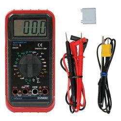 Multimètre multifonctions DVM892 ou EVM92: température, capacité et fréquence