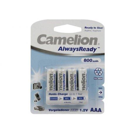Accus camelion NiMh AAA LR03 1.2V 800 mAh AlwaysReady