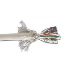 Câble RJ45 CAT5E blindé à sertir - SFTP
