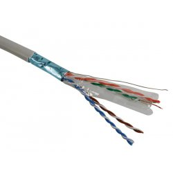 Câble RJ45 blindé CAT6 FTP