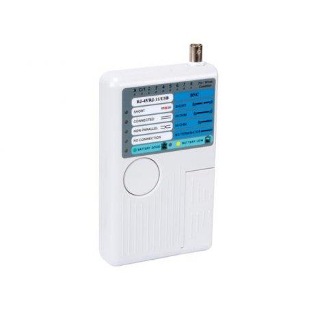 Testeur de LAN : USB, RJ-45, 10BASE-T, Token Ring, câbles RJ11/12 VTLAN7