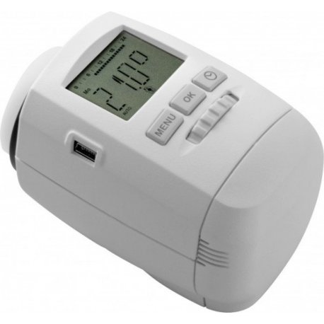 Vanne thermostatique électronique programmable USB chacon danfoss