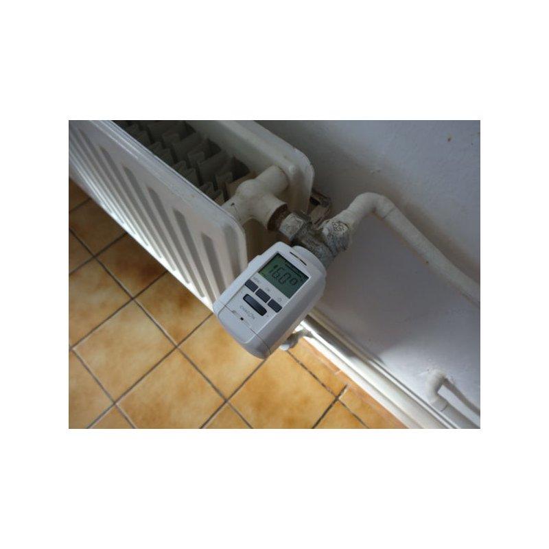 vanne thermostatique lectronique programmable usb chacon. Black Bedroom Furniture Sets. Home Design Ideas