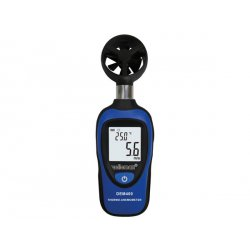 Anémomètre portatif - mesure du vent à 162 km/h max