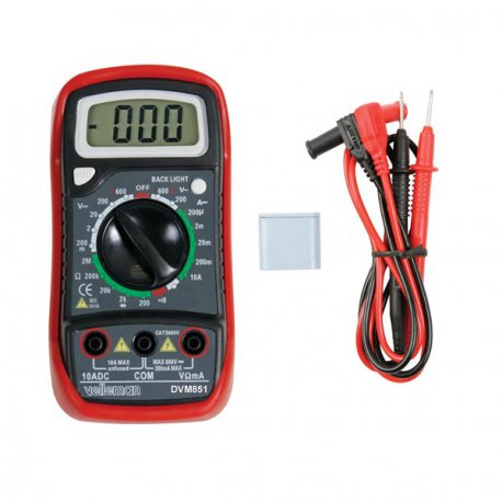 Multimètre numérique simple dvm851