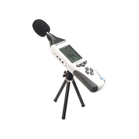 Sonomètre DEM202 enregistreur de données - dBa dBC - USB professionnel connexion temps réel