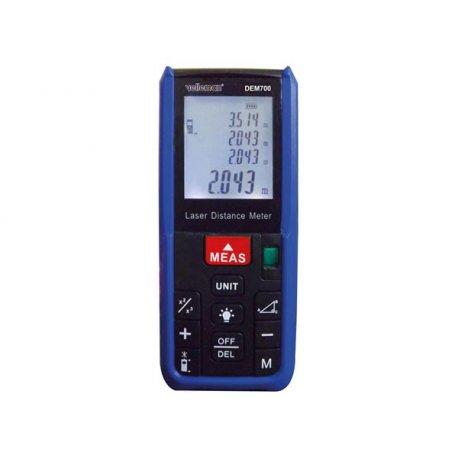 Télémètre laser DEM700 IP54 calcul de superficie et volume