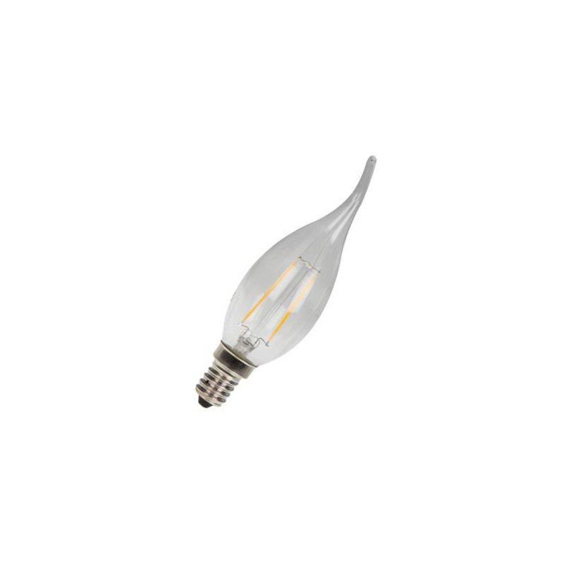 ampoule led edison filament 5w e14 flamme pour lustre. Black Bedroom Furniture Sets. Home Design Ideas