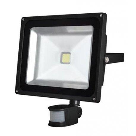 Projecteur de jardin LED Epistar 50W Capteur IR LEDA3005CW-BP