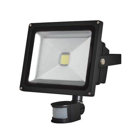 Projecteur de jardin LED Epistar 30W Capteur IR LEDA3003CW-BP