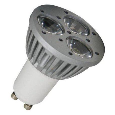 Ampoule GU10 à 3 Leds Edison 3*1W blanc chaud