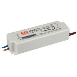 Alimentation 12V CC 20W IP67